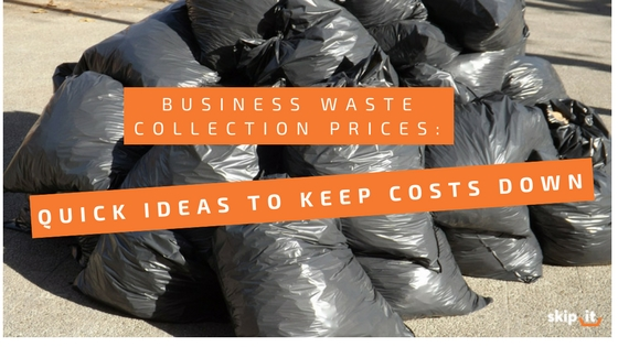 business waste collection prices