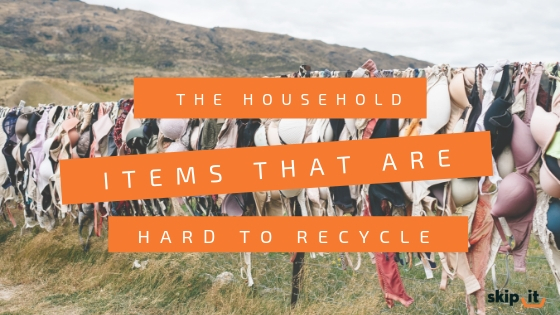 The Household Items That Are Hard To Recycle